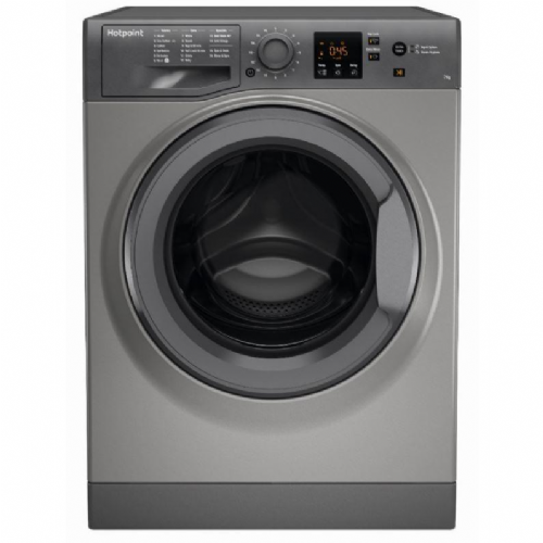 HOTPOINT NSWF743UGG Graphite 7KG Washing Machine 1400rpm